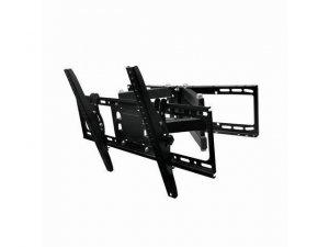 Gembird Wall mount, WM-80RT-01, Turn, Tilt, 32-80 , Maximum weight (capacity) 50 kg, VESA 600x400 mm, Black