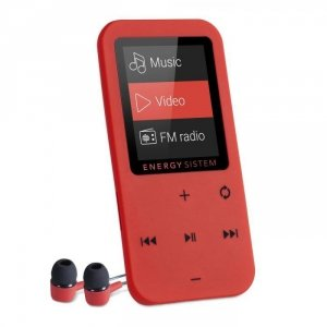 Energy Sistem MP4 Touch Bluetooth, Coral