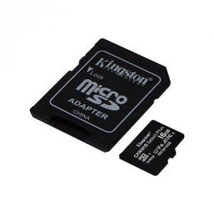 Kingston Canvas Select Plus UHS-I 16 GB, microSDHC, Flash memory class 10, SD Adapter