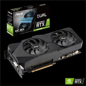 Asus DUAL-RTX2060S-O8G-EVO-V2 NVIDIA, 8 GB, GeForce RTX 2060 SUPER, GDDR6, PCI Express 3.0, Processor frequency 1695 MHz, DVI-D