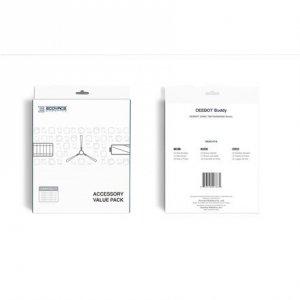 Ecovacs DEEBOT Buddy Accessory set DX5G-KTA 3x filter set, 1x main brush, 4x side brushes