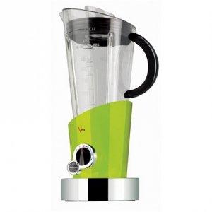 Bugatti Vela Evolution Blender 12-EVELACM Green, 500 W, Tritan PTC BPA free jar, 1.5 L, Ice crushing, Type Stand blender