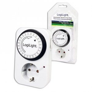 LogiLight Time Switch, mechanical timer Logilink