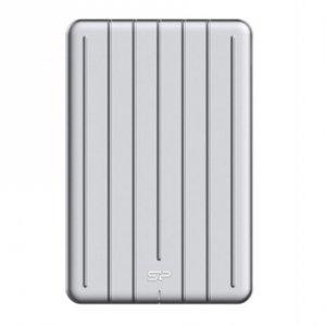 Silicon Power Portable SSD Bolt B75 256 GB, USB 3.2, Silver