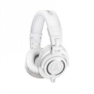 Audio Technica Headphones ATH-M50XWH 3.5mm (1/8 inch), Headband/On-Ear, White