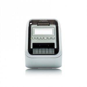 Brother QL-820NWB Thermal, Label Printer, Wi-Fi, Black, White