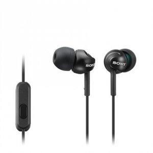 Sony In-ear Headphones EX series, Black Sony MDR-EX110AP In-ear, Black