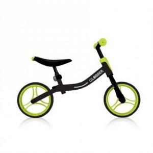 GLOBBER Go Bike Balance Bike, Black/Green