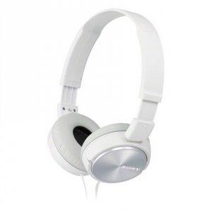 Sony Foldable Headphones MDR-ZX310 Headband/On-Ear, White
