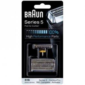 Braun 51S Head Replacement Pack Black