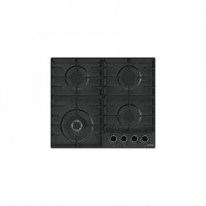 Gorenje Hob GW641BMB Gas, Number of burners/cooking zones 4, Black,