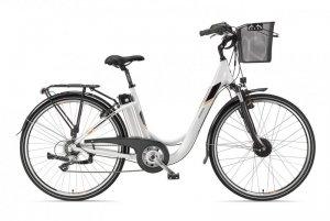 Telefunken Multitalent RC820, City E-Bike, Motor power 250 W, Wheel size 28 , Warranty 24 month(s), White