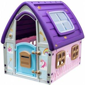 Ogrodowy domek dla dzieci Enero Toys jednorożec 123x102x121cm