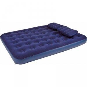 Materac łóżko powietrzne 2 osobowe 203x152x22cm 21470