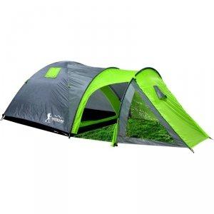 Namiot turystyczny 4 osobowy Cool szaro-zielony Royokamp