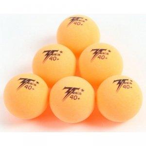 Piłeczki do tenisa stołowego Tesla pomarańczowe 6szt