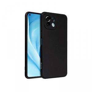 Crong Color Cover - Etui Xiaomi Mi 11 Lite 5G (czarny)