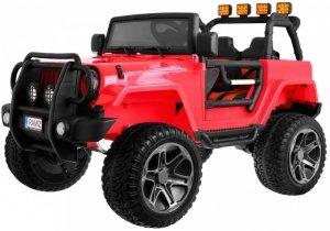 Pojazd Monster Jeep 4x4 Czerwony