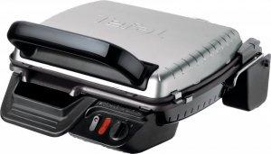 Grill Tefal GC3050  Ultra Compact 600   (Tradycyjny z płytą; 2000W; kolor czarno-srebrny)