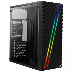Obudowa Aerocool PGS STREAK A AEROPGSSTREAK-A-BKRG (ATX, Micro ATX, Mini ITX; kolor czarny)