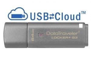 Pendrive Kingston  DTLPG3/64GB (64GB; USB 3.0; kolor srebrny)