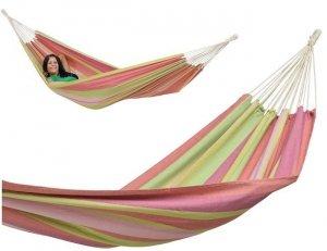 Hamak jednoosobowy Tahiti - Bubblegum 200x100cm #T1