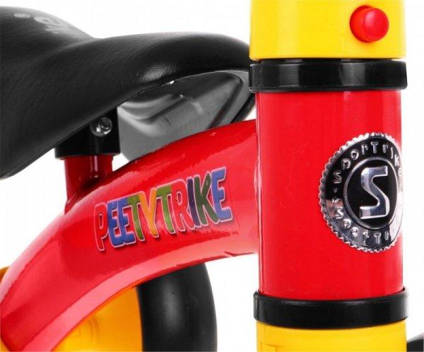 Rowerek biegowy Jeździk SPORTRIKE PettyTrike Z7 Czerwony