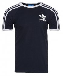 Adidas Originals granatowa koszulka t-shirt męski
