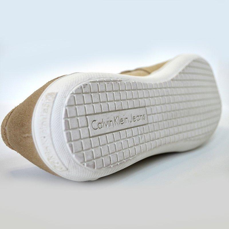 Calvin Klein buty mokasyny męskie Jaxon Suede skóra S5071SND