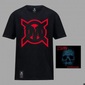CD Opus Magnum System Crash + koszulka OM Czarna/Biała