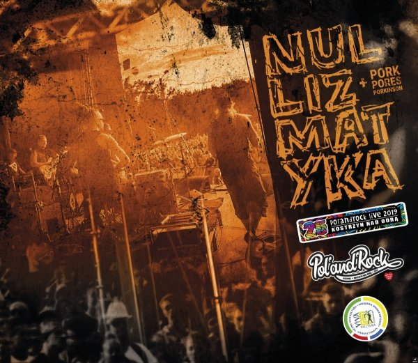 "DVD/CD  Nullizmatyka + Pork Pores Porkinson ""Pol'and'Rock Live 2019"""