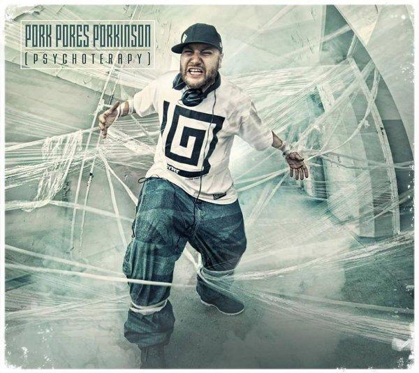 """Preorder CD Pork Pores Porkinson """"93 MLN Mil Od Słońca"""" + Drugi album + Pork Pores Porkinson """"Psychoterapy"""" + Koszulka 93 MLN Mil Od Słońca Czarna"""