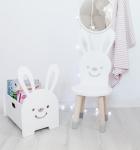 Krzesełko dla dziecka królik