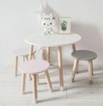 Stolik okrągły dla dziecka