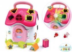 SMOBY Domek Cotoons Kształtów Interaktywny Pink