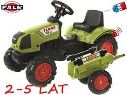 FALK Traktor CLAAS ARION 410 z przyczepą mały