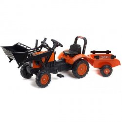 FALK Traktor KUBOTA M7171 z Przyczepą  i Lyżką