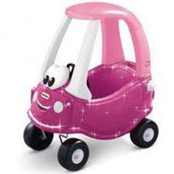 LT Samochód Cozy Coupe Księżniczki Magenta
