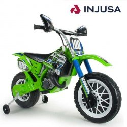 INJUSA Motocykl Cross  Kawasaki 6 V