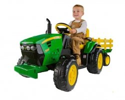 PEG PEREGO Traktor John Deere Power Pull Ground12V