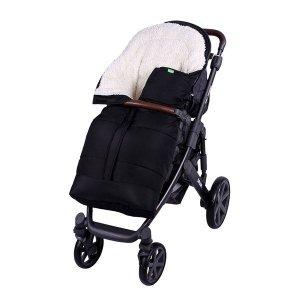 Lulando Zimowy śpiwór do wózka dla dzieci PIK czarny
