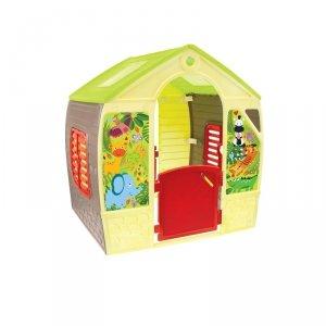 Domek Ogrodowy Dla dzieci Mochtoys Happy House Futurystyczny + narzędzie ogrodowe gratis!