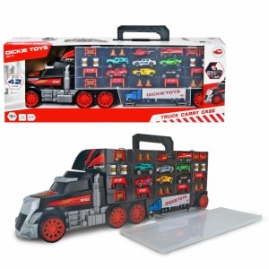 Dickie samochód walizka transporter z autkami 2w1 ciężarówka