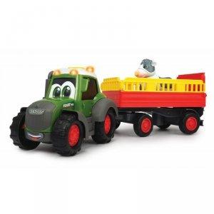 DICKIE Happy Traktor Fendt i Przyczepka