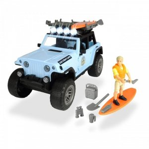 DICKIE Play Life Zestaw Surfera Jeep Akcesoria