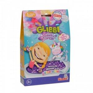 Simba Glibbi Glitter Połyskująca masa do kąpieli Jednorożec