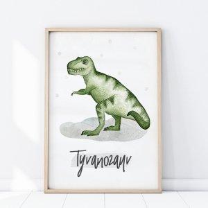 Plakat Dinozaury TYRANOZAUR P277