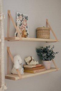 Półka drewniana WOODY