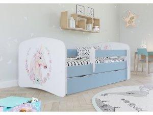 Łóżko dziecięce KONIK różne kolory 180x80 cm