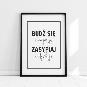 Plakat BUDŹ SIĘ Z MOTYWACJĄ P203